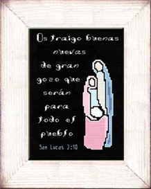 Gran Gozo - San Lucas 2:10b - Diseno | Crafting | Cross-Stitch | Other