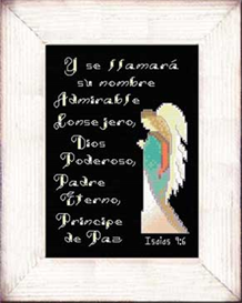 Su Nombre - Isaias 9:6 - Diseno | Crafting | Cross-Stitch | Other