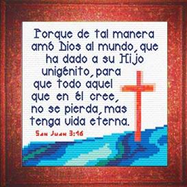 vida eterna - san juan 3:16 chart