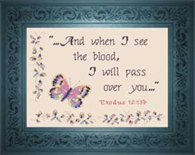 I Will Pass Over You | Crafting | Cross-Stitch | Religious