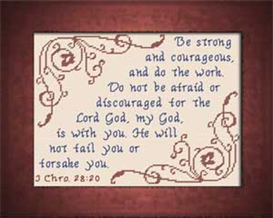 God is With You | Crafting | Cross-Stitch | Religious