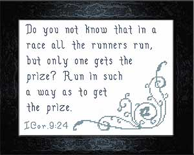 run the race - i corinthians 9:24