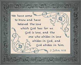 god is love - john 4:16