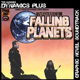 falling planets soundtrack + graphic novel