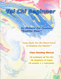tai chi beginner - class reading manual