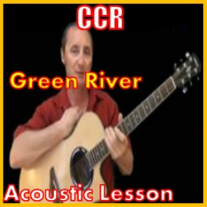 learn how to play green river by ccr