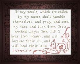 if my people - ii chronicles 7:14