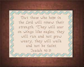 wings like eagles - isaiah 40:31
