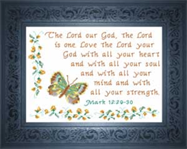 love the lord your god - mark 12:29-30