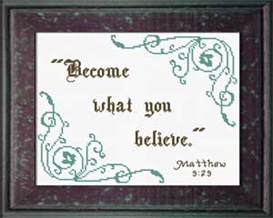 Become What You Believe | Crafting | Cross-Stitch | Other