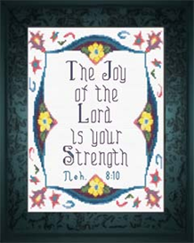joy of the lord - nehemiah 8:10 - chart
