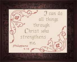 christ strengthens me - philippians 4:13