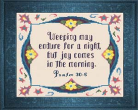 joy in the morning - psalm 30:5b