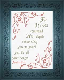 his angels guard psalm 91:11