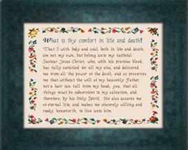 heidelberg catechism chart