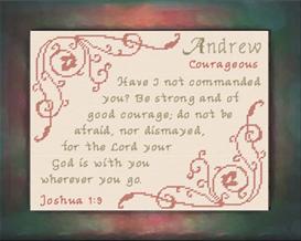 name blessings - andrew 2