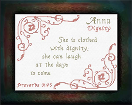name blessings - anna