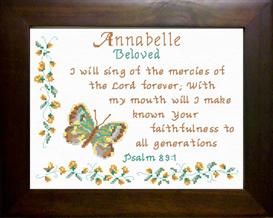 name blessings - annabelle