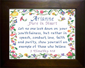 name blessing - arianne