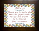 Name Blessing - Ashleigh 2 | Crafting | Cross-Stitch | Religious