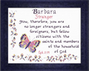 Name Blessings - Barbara | Crafting | Cross-Stitch | Religious