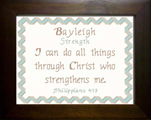 First Additional product image for - Name Blessing - Bayleigh 2