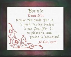 name blessings - bonnie