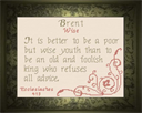 Name Blessings - Brent | Crafting | Cross-Stitch | Religious
