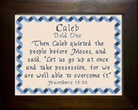 name blessing - caleb 2