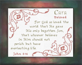 name blessings - cara