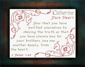 Name Blessings - Catherine | Crafting | Cross-Stitch | Other