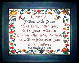 name blessings - cheryl