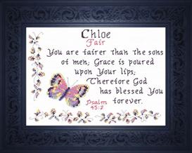 name blessing - chloe