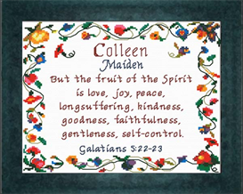 name blessings - colleen