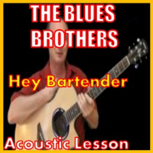 learn to play hey bartender by the blues brothers