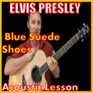 learn to play blue suede shoes by elvis presley