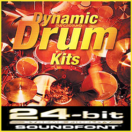 dynamic acoustic drums drumkit soundfont soundfonts reason nnxt 5 6 refill sf2 fl studio fruity loop 10