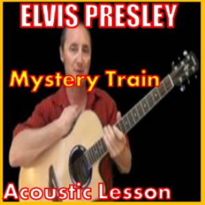 learn to play mystery train by elvis presley