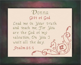 name blessing - donna