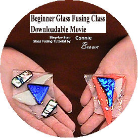 Beginner Glass Fusing Class Downloadable Movie | Movies and Videos | Training