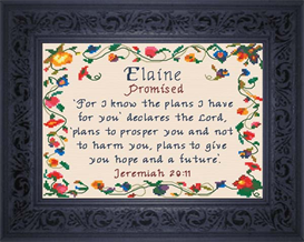 Name Blessing - Elaine 2 | Crafting | Cross-Stitch | Other