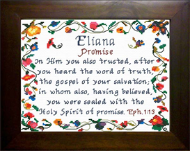 Name Blessings - Eliana | Crafting | Cross-Stitch | Other