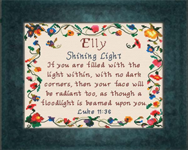 Name Blessings - Elly | Crafting | Cross-Stitch | Other