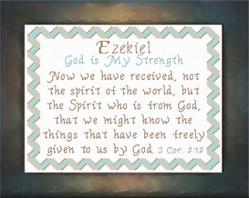 name blessings - ezekiel
