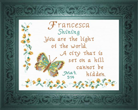 name blessings - francesca