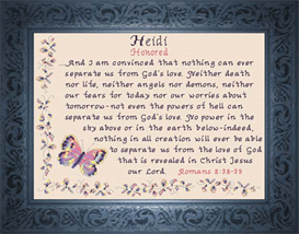 name blessings - heidi