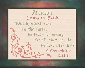 name blessings - hudson