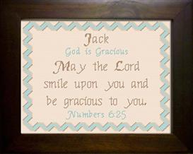 name blessing - jack