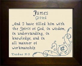 name blessing - james 2