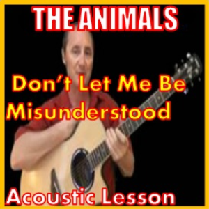 learn to play dont let me be misunderstood by the animals